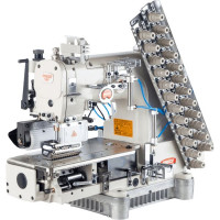 BRUCE BRC-009VCDI-08064P/UTL 8 голкова машина ланцюжкового стібка з автоматичними функціями