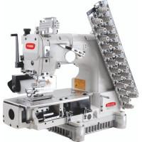 BRUCE BRC-009VCDI-12064P 12-голкова машина ланцюжкового стібка з зубчатим пуллєром