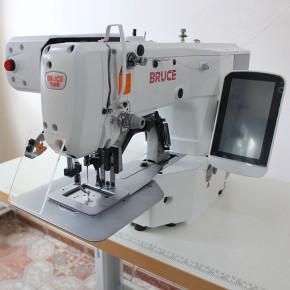 BRUCE BRC-T1906GH-D електронна закріпочна машина з робочим полем 60х50 мм