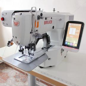 BRUCE BRC-T1906GS-D електронна закріпочна машина з робочим полем 60х50 мм