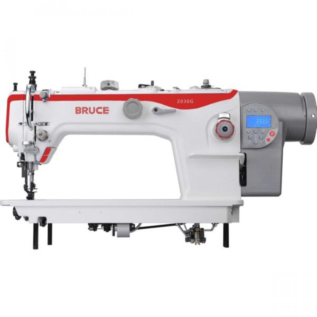 BRUCE BRC-2030GHC-4Q комп'ютеризована промислова швейна машина з подвійним просуванням матеріалів та подовженим рукавом