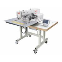 BRUCE BRC-T3020-F4-D программированная машина циклического шитья для нашивания элементов по закрытому контуру с рабочем полем 300х200 мм