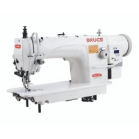 BRUCE BRC-6380BC-Q-12 промышленная 1-игольная машина для тяжёлых материалов с двойным продвижением материалов и максимальной длиной стежка до 12 мм