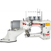 """BRUCE BRC-946-460-02H/D/AW1S плоскошовная машина с платформой свободный рукав типа """"Флэтлок"""" для средних-тяжёлых материалов"""