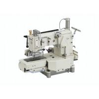 Kansai Special FX4412-UTC 5.0 промислова 12-голкова машина ланцюжкового стібка з автоматичними функціями та зубчатим пуллером