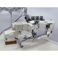 Kansai Special NFS6604GFLM-DD60 промисловий флетлок для легко-середніх матеріалів та платформою вільний рукав