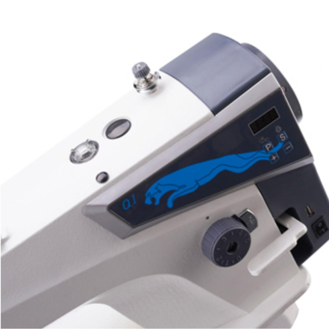MAQI Q1-H, промислова швейна машина з вбудованим серводвигуном та позиціонером голки, для середніх та важких матеріалів-2