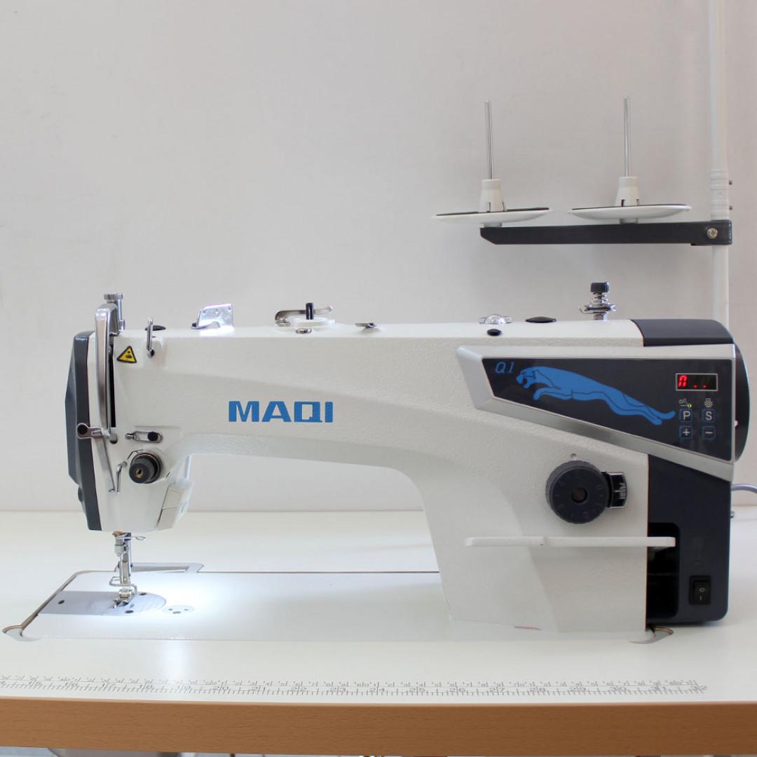 MAQI Q1-M промислова швейна машина з прямим приводом та позиціонером голки, для легких та середніх матеріалів-2