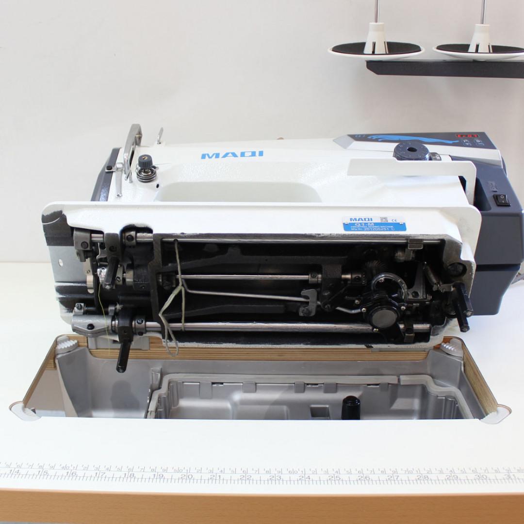 MAQI Q1-M промислова швейна машина з прямим приводом та позиціонером голки, для легких та середніх матеріалів-5