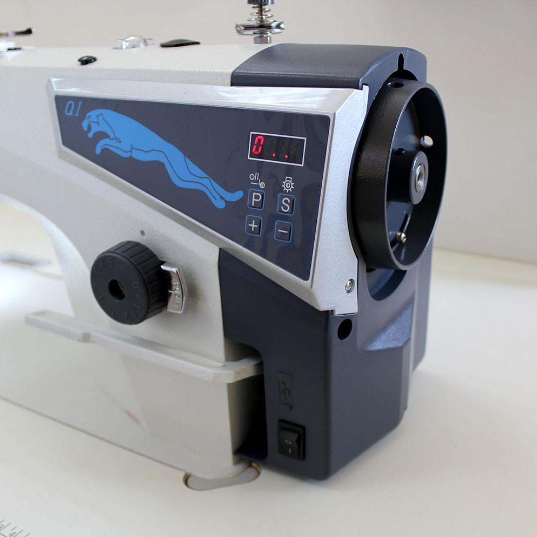 MAQI Q1-M промислова швейна машина з прямим приводом та позиціонером голки, для легких та середніх матеріалів-4