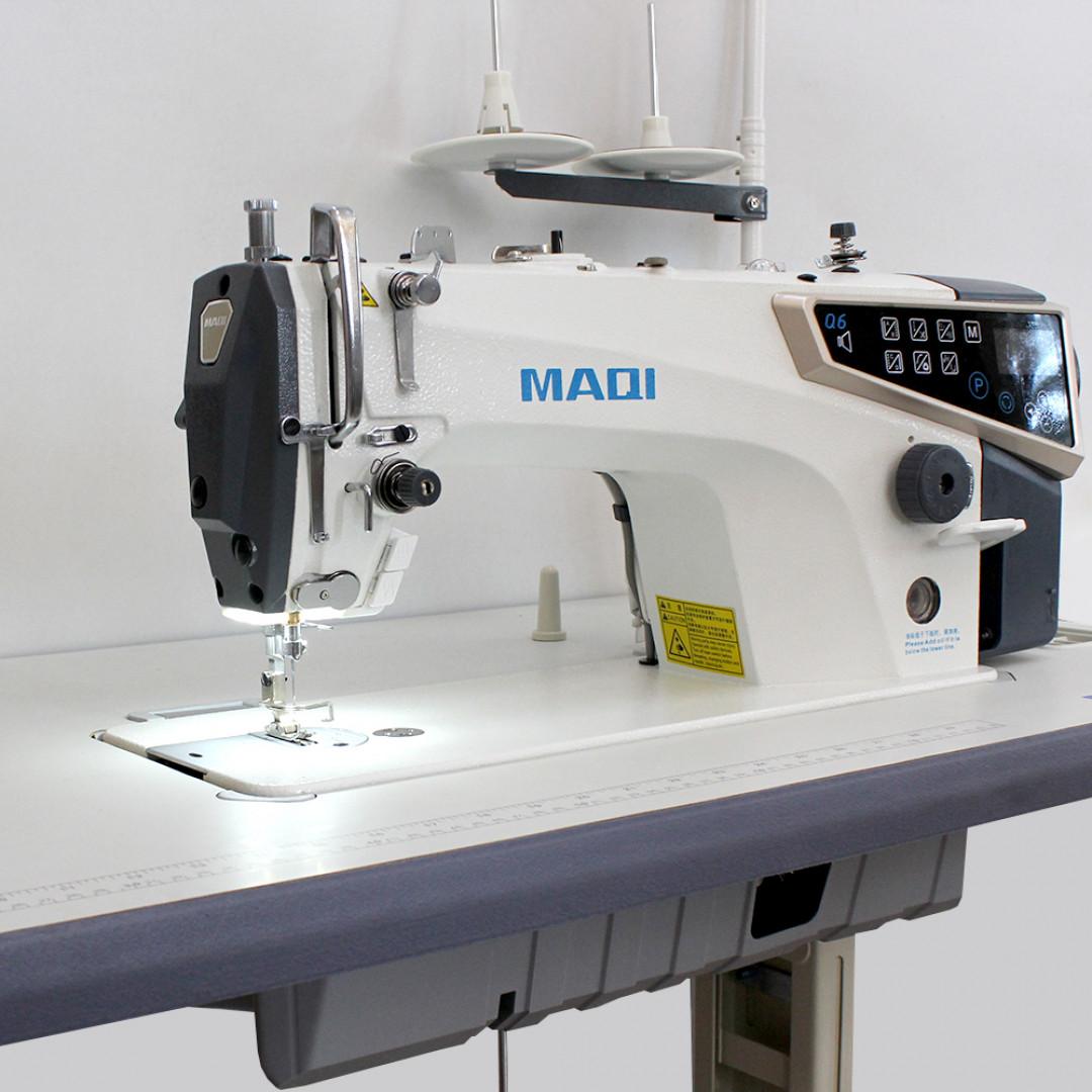 MAQI Q6-M-5N-II промышленная швейная машина с автоматическими функциями и коротким кончиком нитки после обрезки, закрытым масляным картером-3