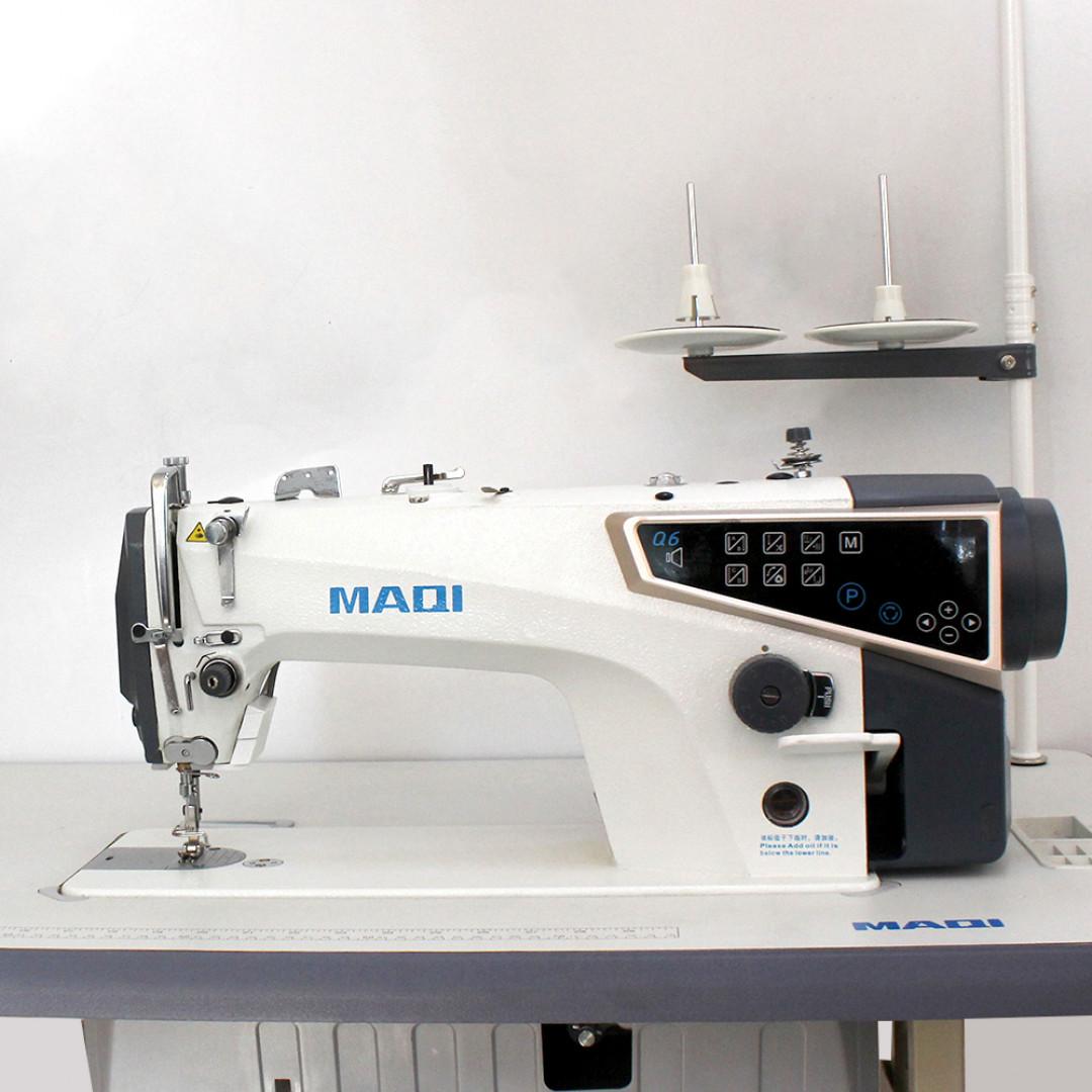 MAQI Q6-M-5N-II промышленная швейная машина с автоматическими функциями и коротким кончиком нитки после обрезки, закрытым масляным картером-2