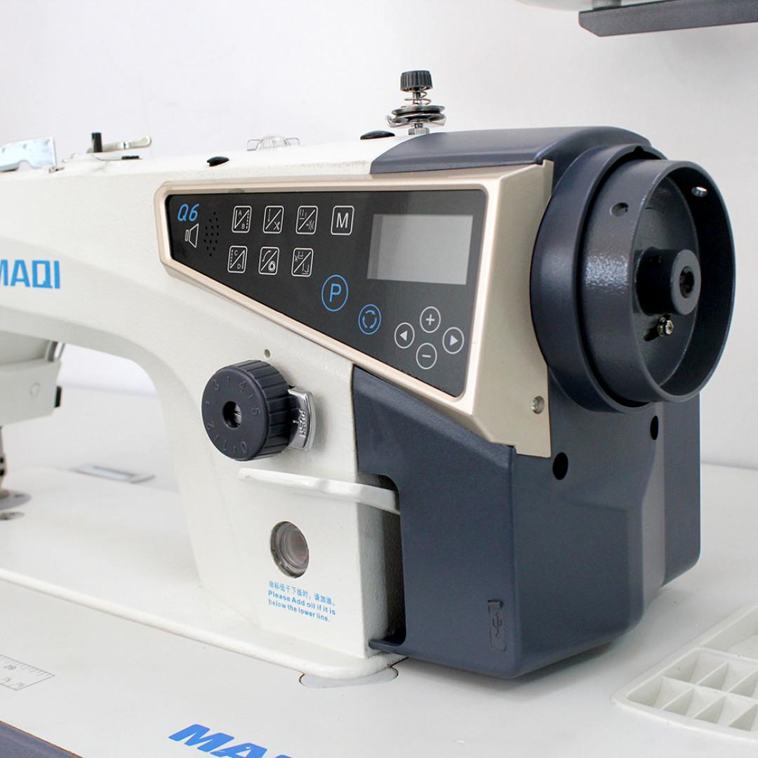 MAQI Q6-M-5N-II промышленная швейная машина с автоматическими функциями и коротким кончиком нитки после обрезки, закрытым масляным картером-5