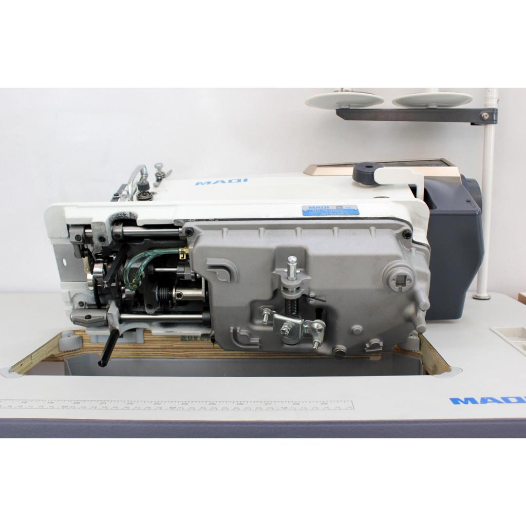 MAQI Q6-M-5N-II промышленная швейная машина с автоматическими функциями и коротким кончиком нитки после обрезки, закрытым масляным картером-4