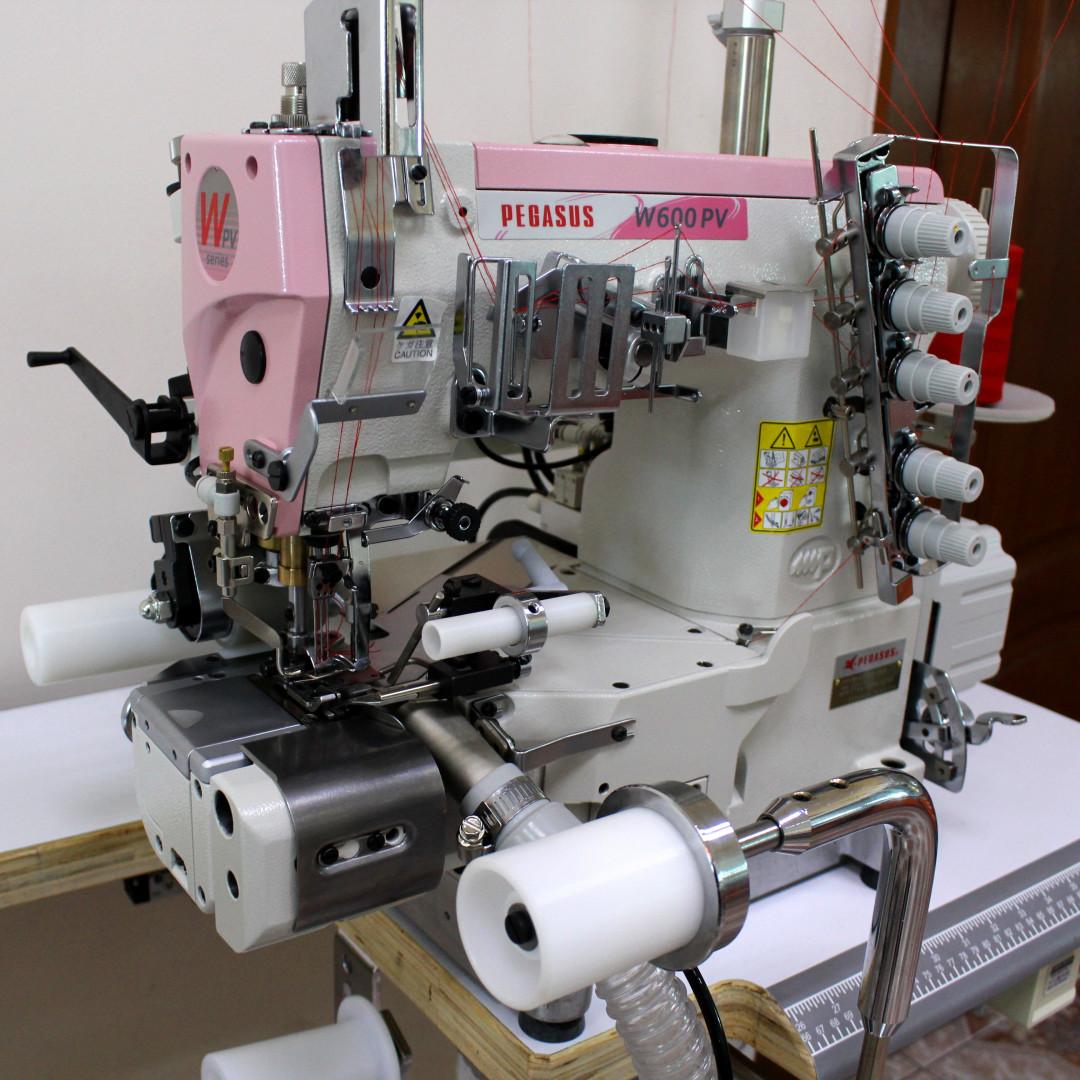 Pegasus W662PVH-33AX356CS/FT9A/RP9A/UT4M/Z054 рабочее место для вшивания резинки трусов боксеров