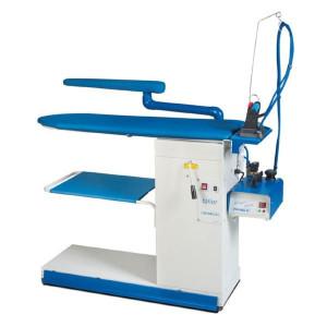 PRIMULA TAILOR DOB S+B F1 консольний прасувальний стіл з рукавом підігрівом поверхні, вакуумним відсмоктуванням та піддувкою