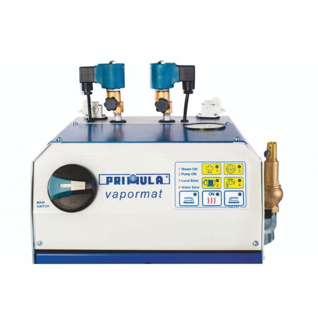 Промисловий автоматичний парогенератор Primula VAPORMAT 2, 6KW 400V на 2 робочих місця з системою самодіагностики-3