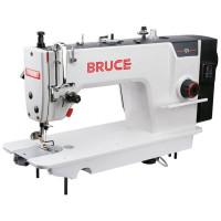 BRUCE Q5H, промислова швейна машина з вбудованим серводвигуном та позиціонером голки, для середніх та важких матеріалів