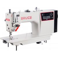 BRUCE R5E-Q комп'ютеризована прямострочна швейна машина з електронним регулюванням довжини стібка для легких-середніх матеріалів