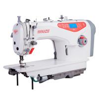 BRUCE RA6N промислова швейна машина з автоматичними функціями, закритим масляним картером, та чистою першою  закріпкою
