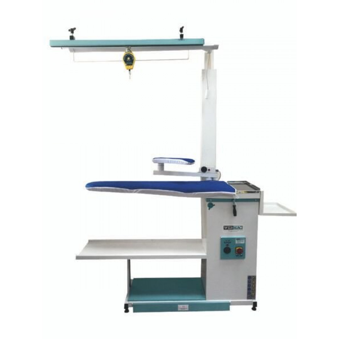 WERMAC C200 Professional, консольний прасувальний стіл з підігрівом поверхні та вакуумним відсмоктуванням повітря-7