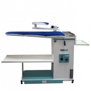 WERMAC C200 Professional прасувальний стіл консольного типу з підігрівом поверхні вакуумним відсмоктуванням повітря та рукавом