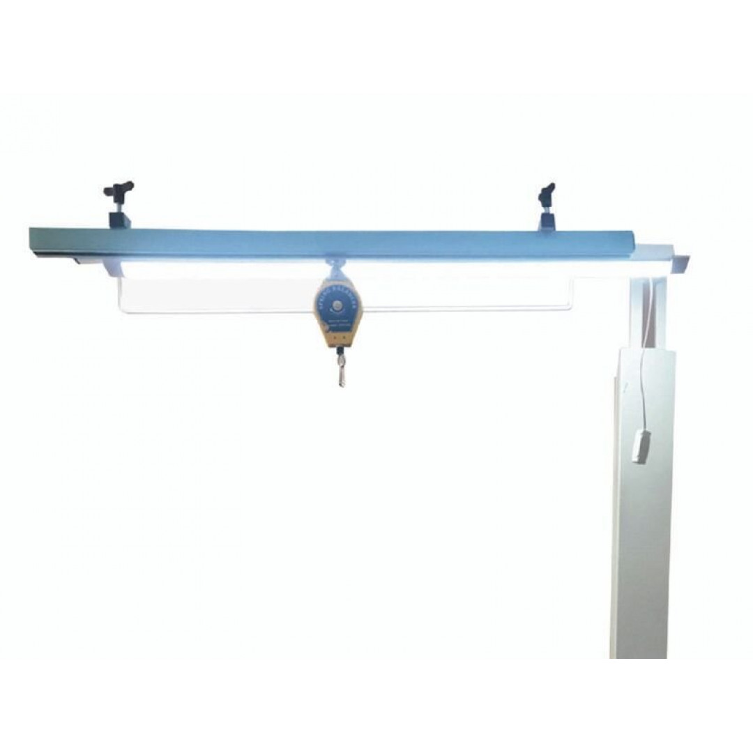 WERMAC C200 Professional, консольний прасувальний стіл з підігрівом поверхні та вакуумним відсмоктуванням повітря-4
