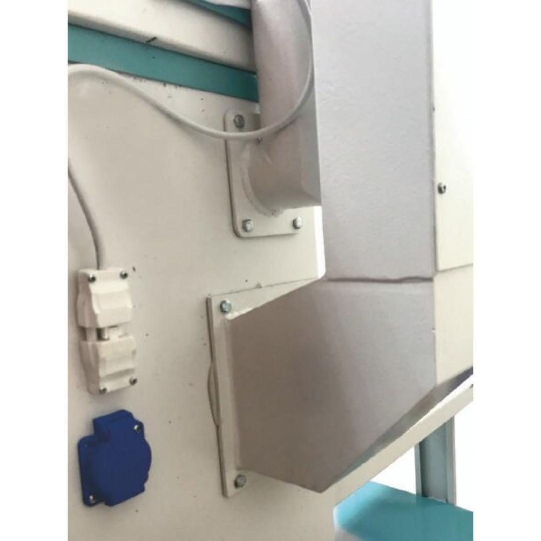 WERMAC C200 Professional, консольний прасувальний стіл з підігрівом поверхні та вакуумним відсмоктуванням повітря-6