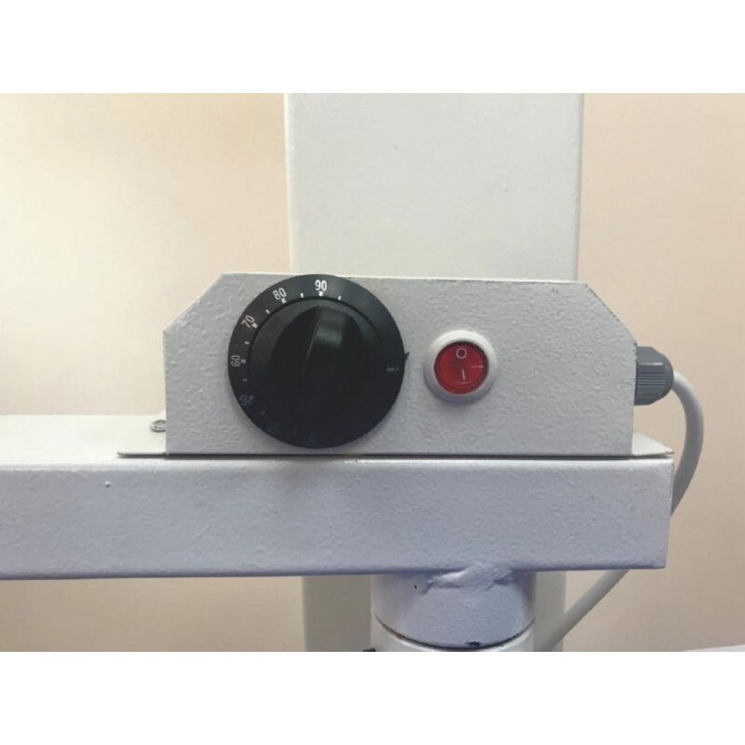 WERMAC C200 Professional, консольний прасувальний стіл з підігрівом поверхні та вакуумним відсмоктуванням повітря-2