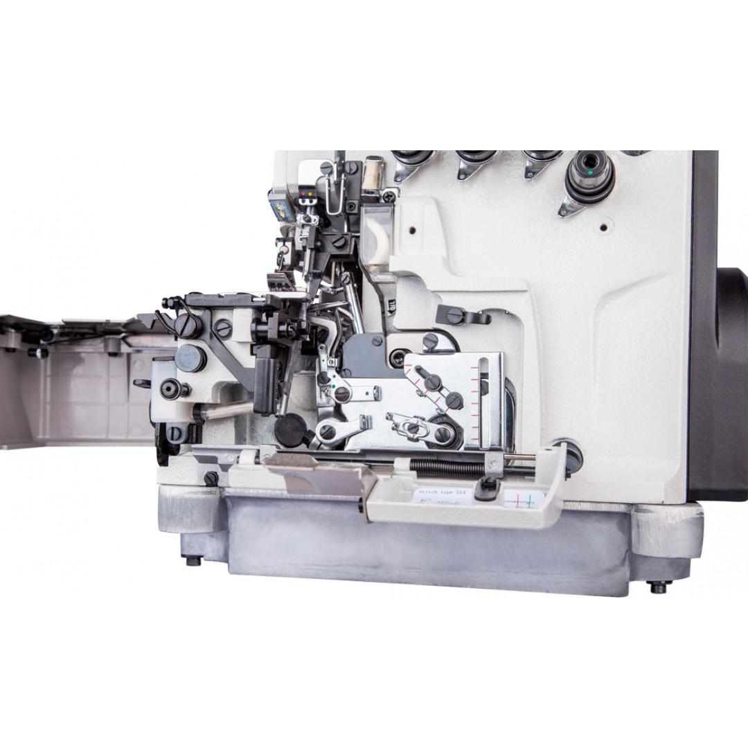 BRUCE BRC-X3-4-M2-24, 4-нитковий промисловий оверлок з вбудованим серводвигуном -5