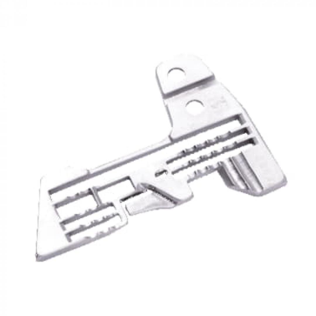 Игольная пластина 20115003 для пятиниточного оверлока 3x5 мм-2