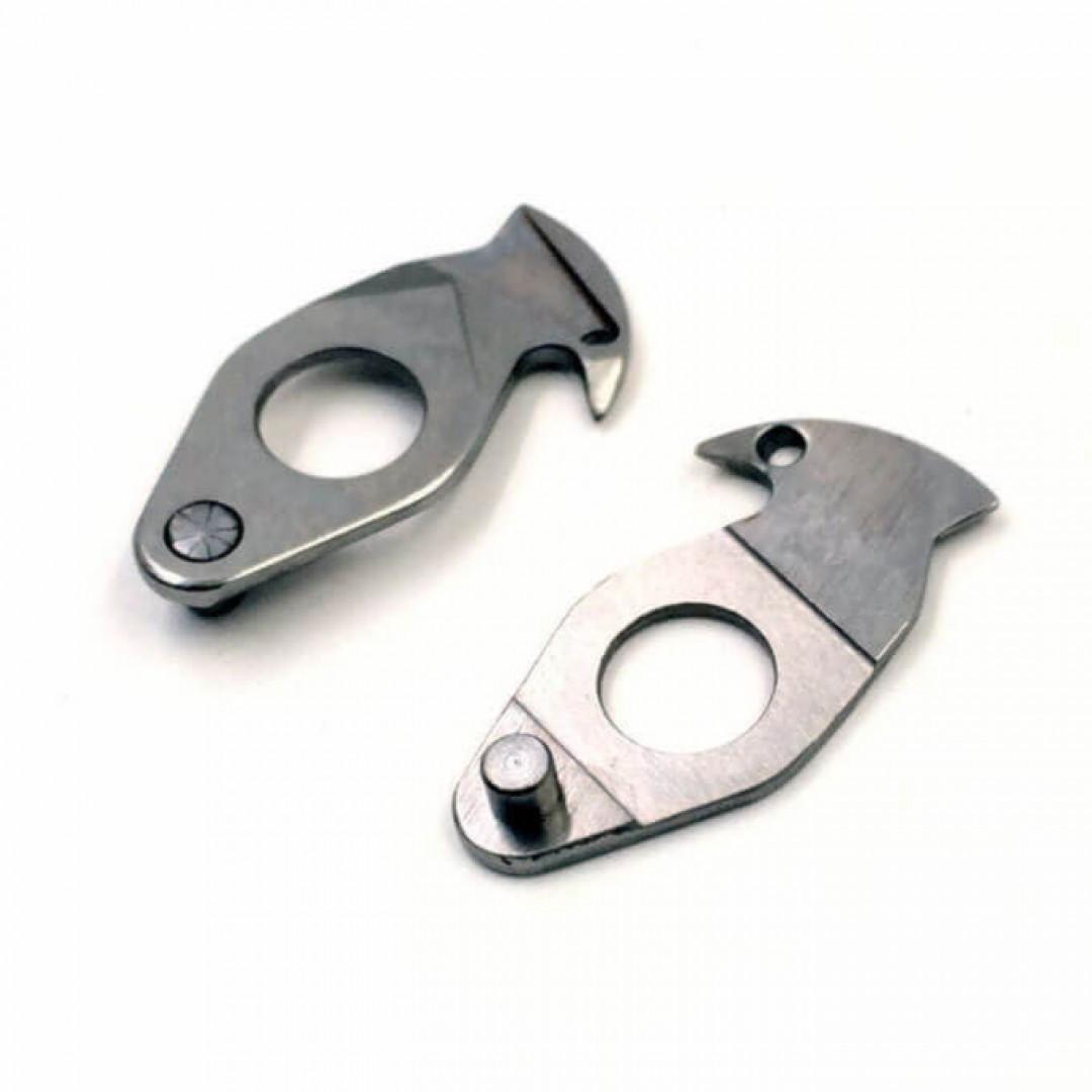 подвижный нож обрезки ниток