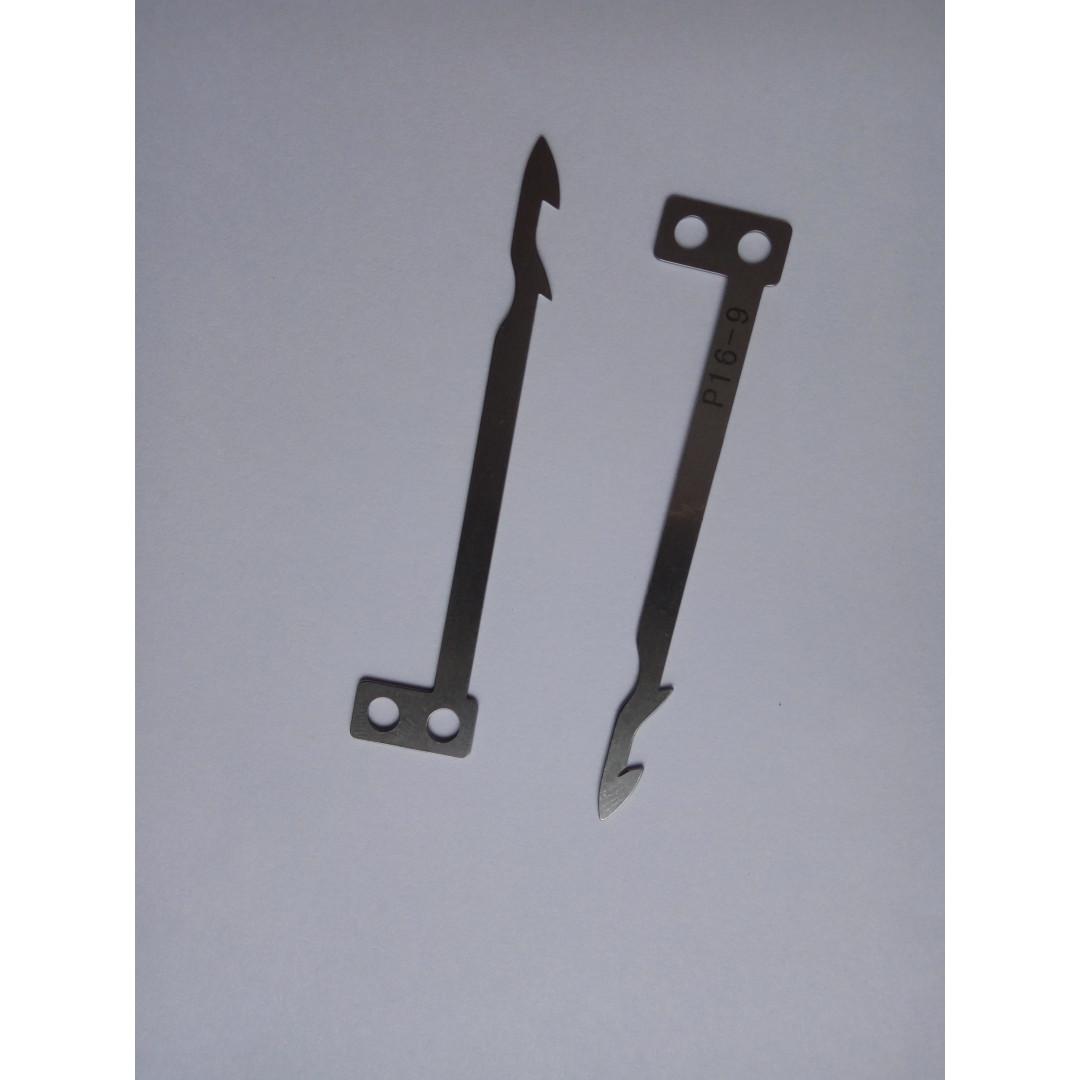 Подвижный нож нижнего механизма обрезки ниток для машин BRUCE BRC W664UT JK-8669UT