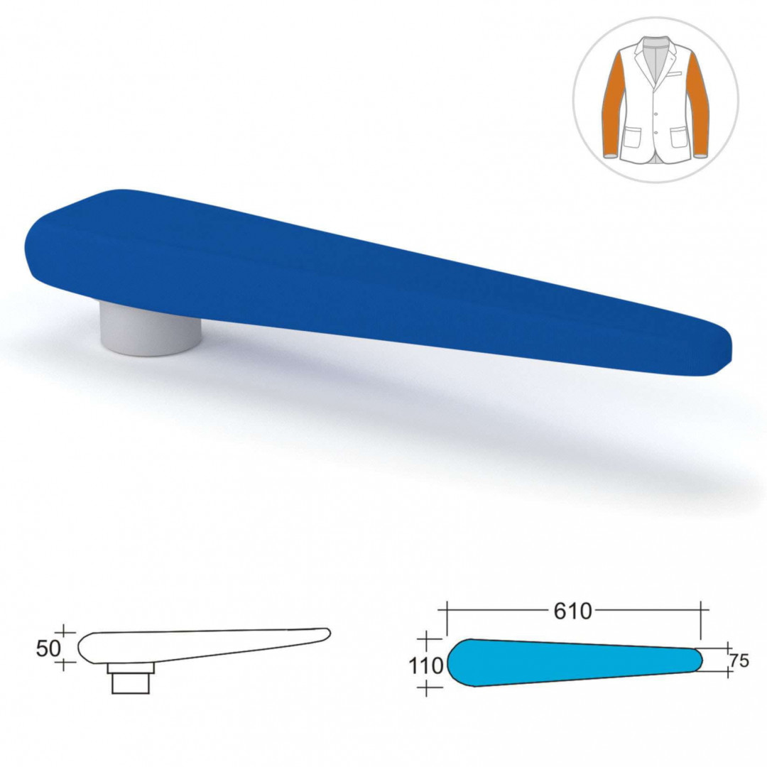 поворотный рукав с подогревом поверхности