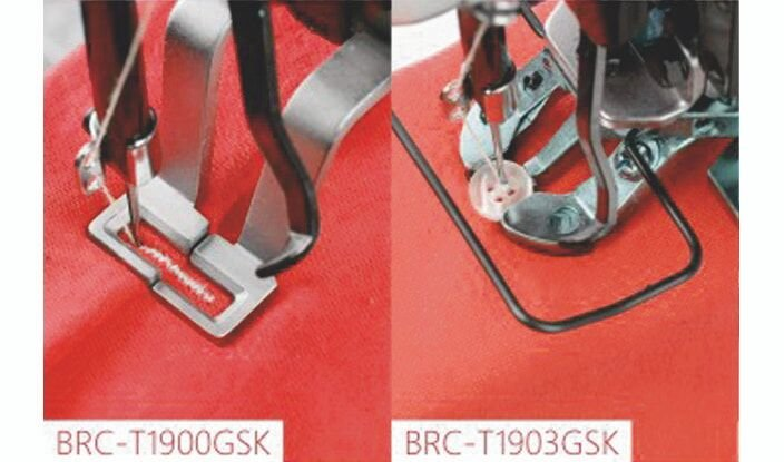 BRUCE BRC-T1900GSK Закріпочна машина с можливістю пришивати ґудзики