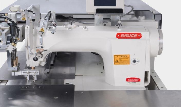 BRUCE BRC-T5878-58BQ Одноголкова машина човникового стібка з напівсухою головою