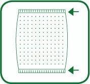 Kansai Special HDX1101 Схема и вид шва