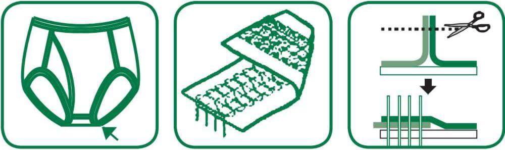 флетлок промисловий для середньо-важких матеріалів Kansai Special NFS6604GFMH-H-DD60