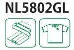 Kansai Special NL5802GL Схема та вигляд шва