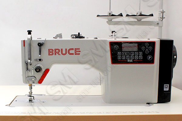 BRUCE R5E-Q одноголкова промислова прямострочна швейна машина автомат з електронним регулюванням довжини стібка
