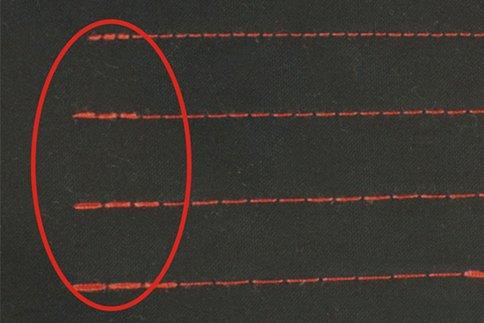 Идеальная точность стежков закрепки в швейной машине BRUCE R5E-Q-7