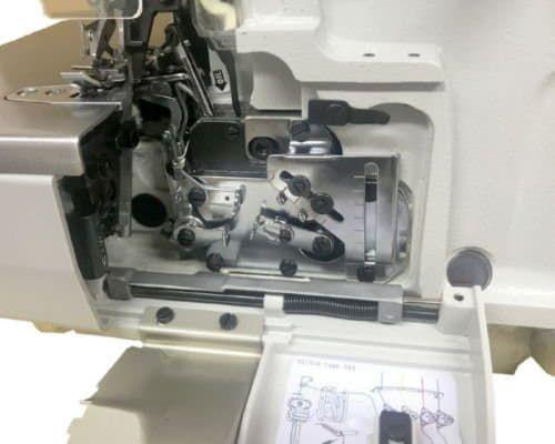 Улучшенная система направителей нити в оверлоке BRUCE BRC-X3-4-M2-24